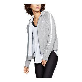 33d74d83f Under Armour Women's Rival Fleece Full Zip Hoodie