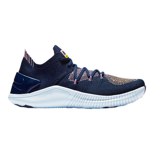 ba54ab0dca13 Nike Women s Free TR Flyknit 3 Training Shoes - College Navy Navy ...
