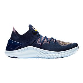 f3846a278 Nike Women's Free TR Flyknit 3 Training Shoes - College Navy/Navy