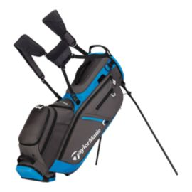 TaylorMade Flex Tech Crossover Stand Bag - Grey/Blue