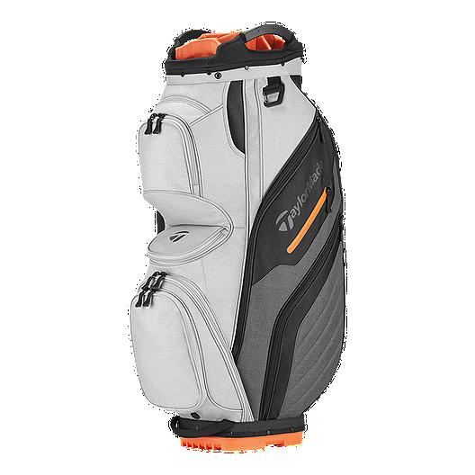 d1521c09cf TaylorMade 2018 Supreme Cart Bag - Orange/Charcoal | Sport Chek