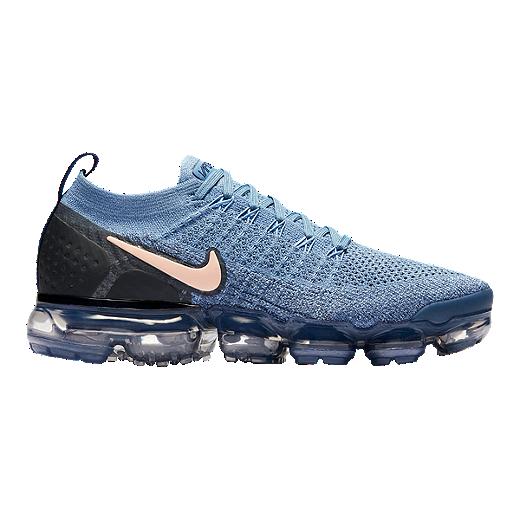 246132ca98 Nike Women's Air Vapormax Flyknit 2 Running Shoes - Work Blue | Sport Chek