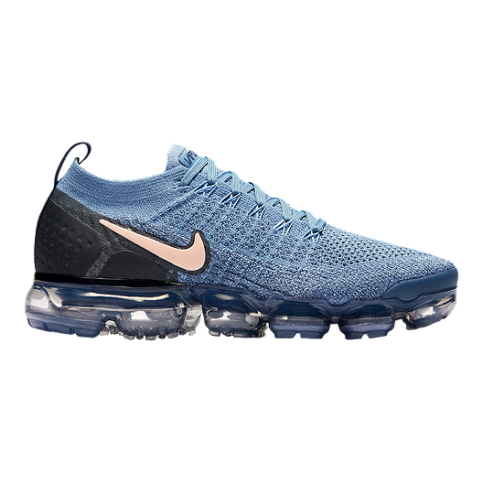 e7d7fdbcd50a Nike Women s Air Vapormax Flyknit 2 Running Shoes - Work Blue ...