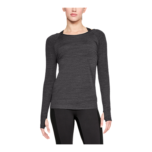 3542669c Under Armour Women's Threadborne Seamless Spacedye Long Sleeve Shirt