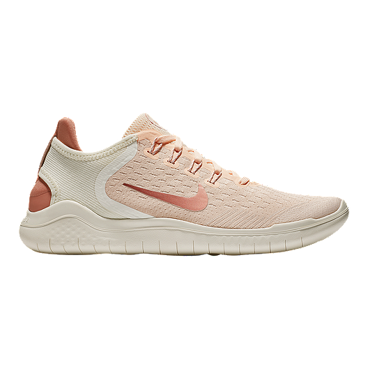 185921ed06bf Nike Women s Free RN 2018 Running Shoes - Guava Ice Rust Pink Sail ...