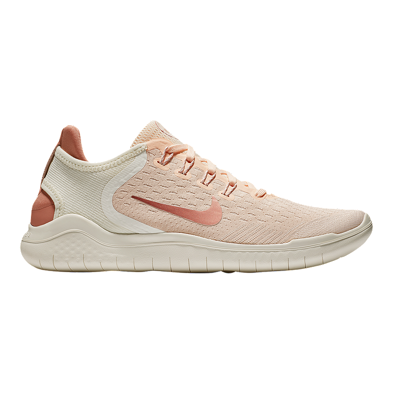 158510296d1d Nike Women s Free RN 2018 Running Shoes - Guava Ice Rust Pink Sail ...