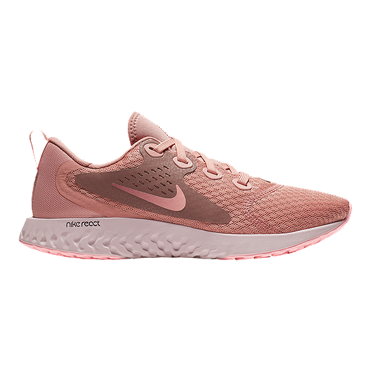 760f78e2ec7d Nike Women s Legend React Running Shoes - Rust Pink Pink Tint ...