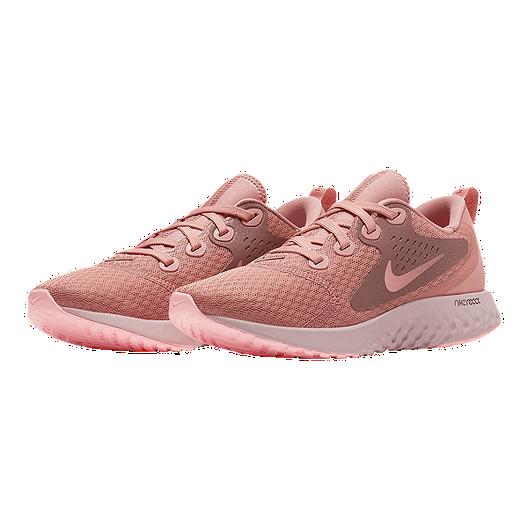 4d7169319d2e Nike Women s Legend React Running Shoes - Rust Pink Pink Tint. (1). View  Description