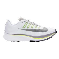 Nike Women s Zoom Fly Running Shoes - White Black Bright Crimson ... a5c6e7d604