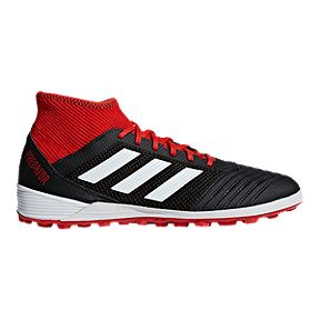 new product 497e9 a23e1 adidas Men s Predator Tango 18.3 Turf Soccer Shoes - Black Red White