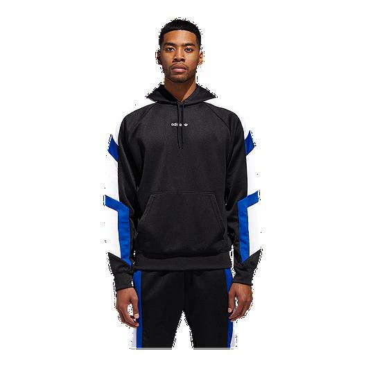 fea956844d6d adidas Originals Men s EQT Block Pullover Hoodie
