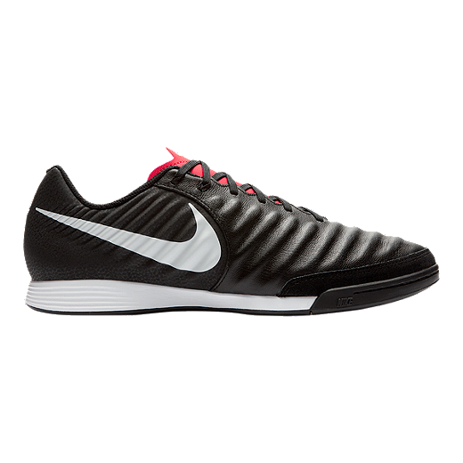 b02f03f899d Nike Men s Tiempo Legend 7 Academy Indoor Soccer Shoes - Black White Red -