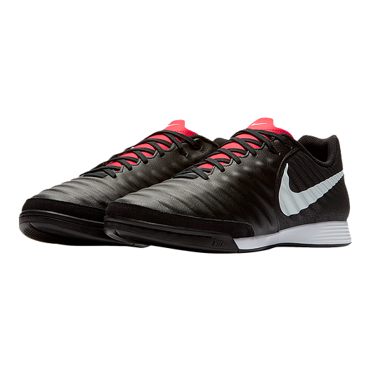 pretty nice 4d094 6cca7 Nike Men's Tiempo Legend 7 Academy Indoor Soccer Shoes - Black/White/Red