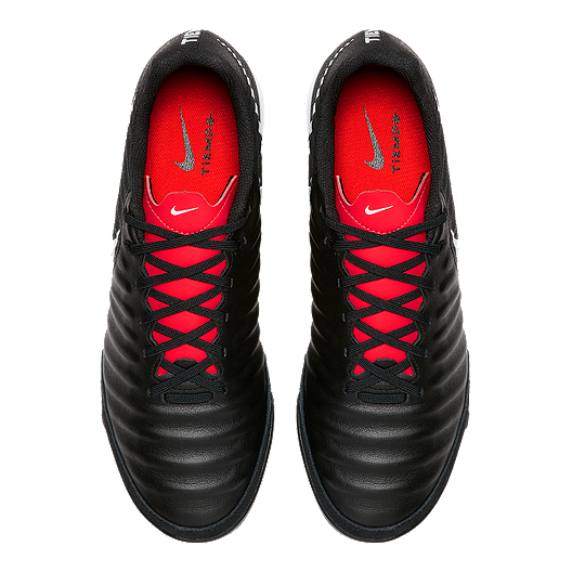 48e67ab5aaa Nike Men s Tiempo Legend 7 Academy Indoor Soccer Shoes - Black White Red.  (1). View Description