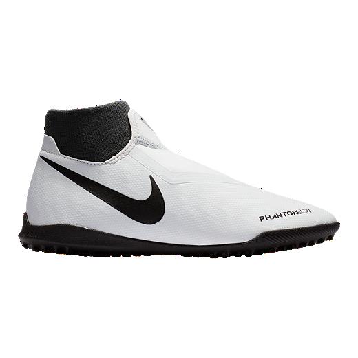 df77822f6e1 Nike Men s Phantom VSN Academy Indoor Turf Soccer Shoes - Platinum Red