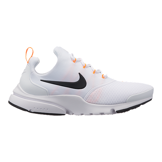 code promo 4b339 1f8cd Nike Men's Presto Fly JDI Shoes - White/Black/Orange