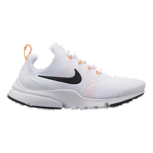 8d25739a7c95 Nike Men s Presto Fly JDI Shoes - White Black Orange
