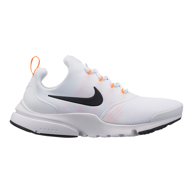 28582d1f99a Nike Men s Presto Fly JDI Shoes - White Black Orange