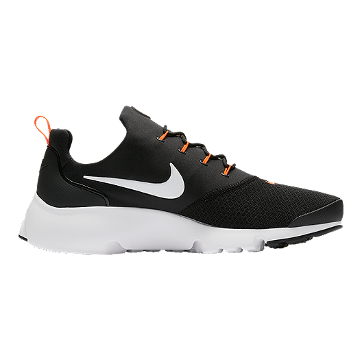 reputable site 13f19 205a5 Nike Men s Presto Fly JDI Shoes - Black White Orange   Sport Chek