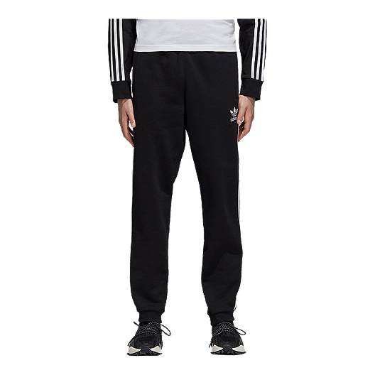 adidas Originals Men's 3 Stripe Fleece Pants