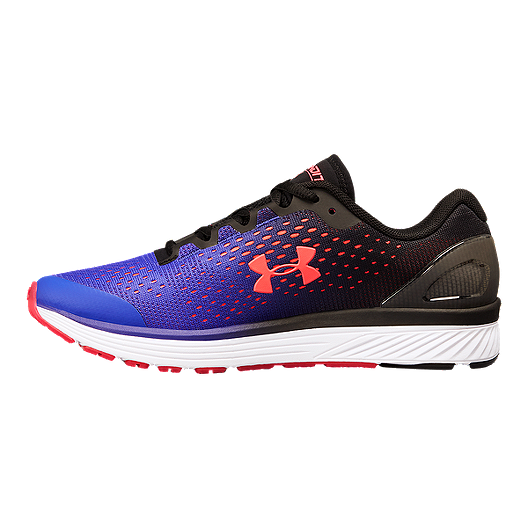 low priced e113c fc114 Under Armour Girls' Charged Bandit 4 Grade School Shoes - Black/Purple/Pink