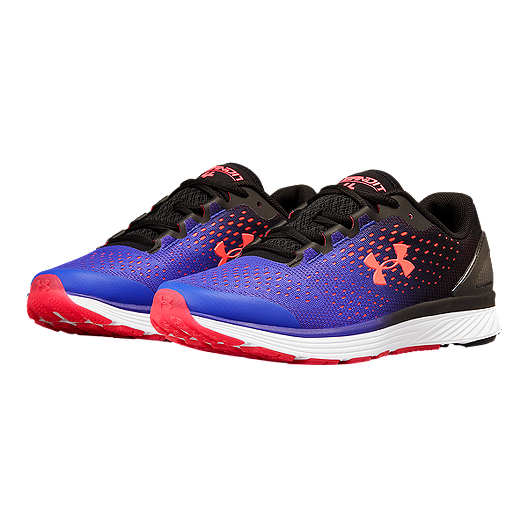 low priced 0da57 c054e Under Armour Girls' Charged Bandit 4 Grade School Shoes - Black/Purple/Pink