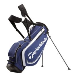 TaylorMade Custom 4.0 Stand Bag - Navy Blue/White