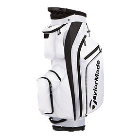 TaylorMade Pro Cart 4.0 Golf Bag - White/Black