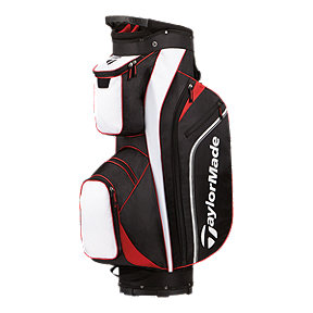 TaylorMade Pro Cart 4.0 Golf Bag - Black/White