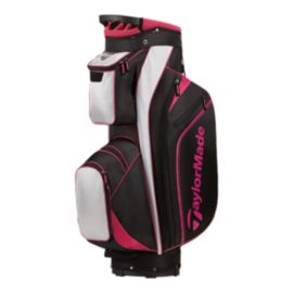 TaylorMade Women's Pro Cart 4.0 Golf Bag - Black/Pink