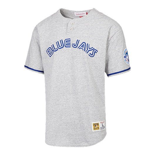 info for 324b3 5d7bb Toronto Blue Jays Men's Mitchell and Ness Sealed The Victory Tee