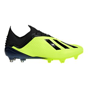 4e26079f2 Clearance. adidas Men s X 18.1 FG Soccer Cleats - Yellow Black White