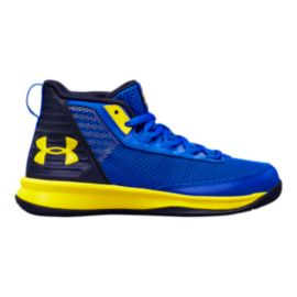 Under Armour Kids' Jet 2018 Preschool Shoes - Team Royal/Midnight Navy/Taxi