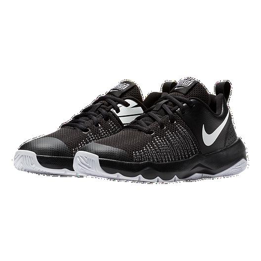 premium selection b22dc 28c82 Nike Kids  Team Hustle Quick Grade School Basketball Shoes - Black White.  (0). View Description