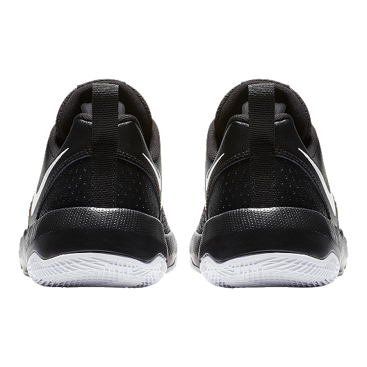 premium selection 67d83 fbd56 Nike Kids  Team Hustle Quick Grade School Basketball Shoes - Black White.  (0). View Description