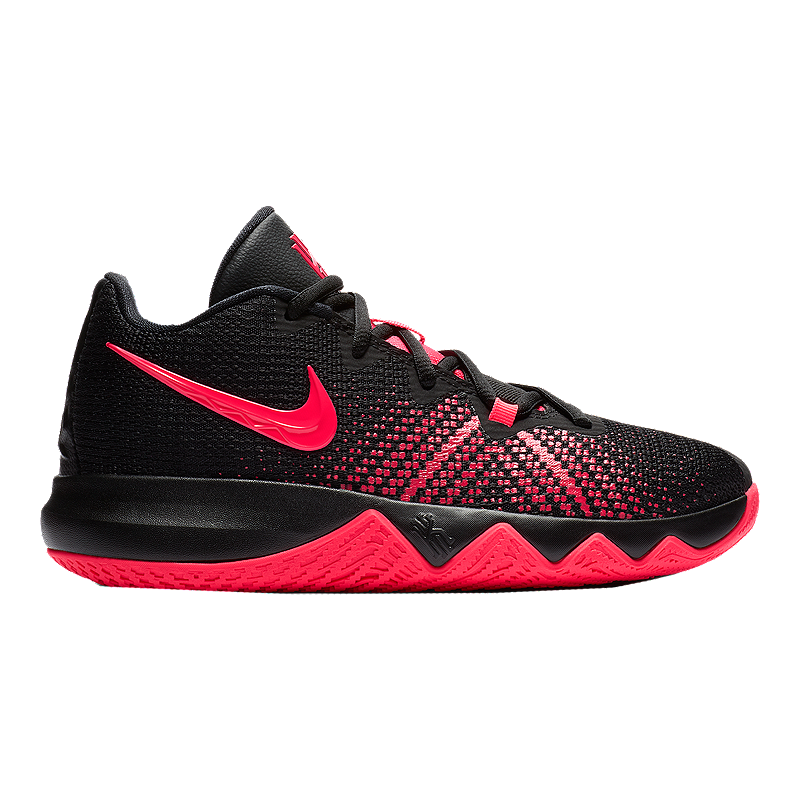 05f10cab3fd Nike Kids  Kyrie Flytrap Grade School Basketball Shoes - Black Red Orbit