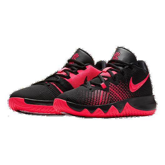 0de9ba1d4372 Nike Kids  Kyrie Flytrap Grade School Basketball Shoes - Black Red Orbit.  (0). View Description