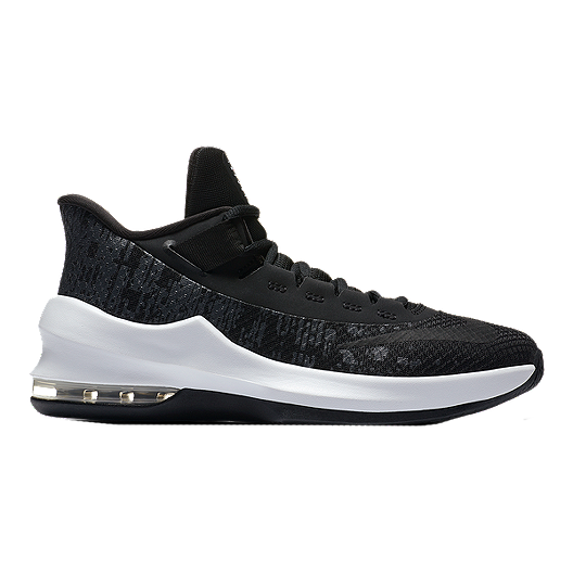 sports shoes b977d 2c959 Nike Kids  Air Max Infuriate II Grade School Basketball Shoes - Black White Anthracite    Sport Chek