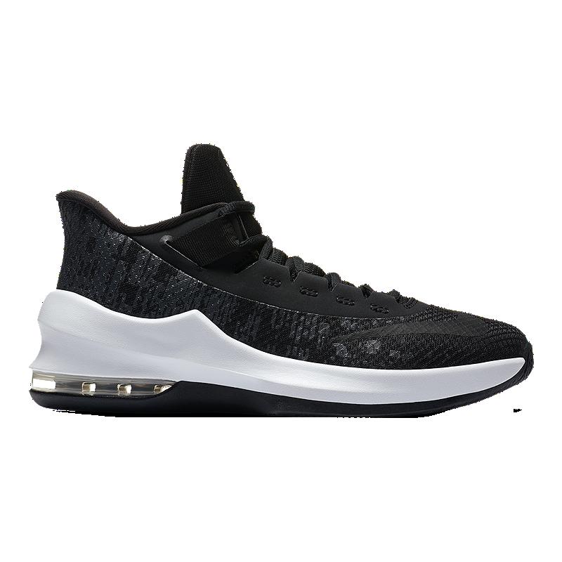 sports shoes a5fbc 22d34 Nike Kids  Air Max Infuriate II Grade School Basketball Shoes - Black White Anthracite    Sport Chek