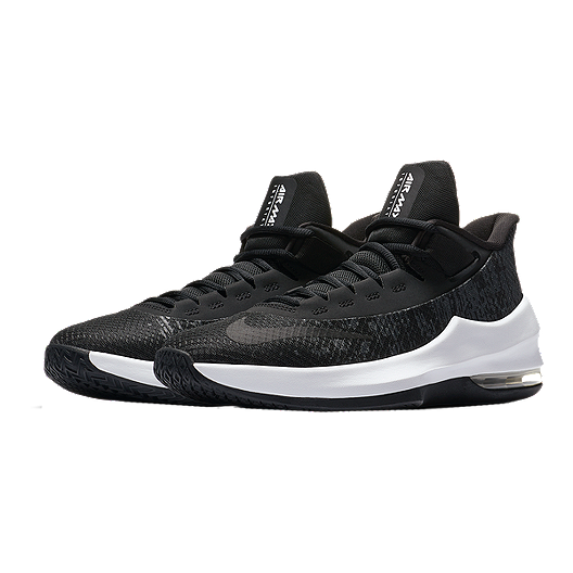 the latest ac375 3bd0a Nike Kids  Air Max Infuriate II Grade School Basketball Shoes - Black White Anthracite.  (0). View Description
