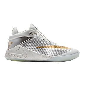 efb8acf8629c Nike Kids  Future Flight Grade School Basketball Shoes -  Platinum Gold Chrome