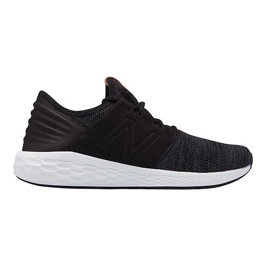 16a1ceef6d72f New Balance Men's Freshfoam Cruz v2 Running Shoes - Black/Grey -  BLACK/MAGNET