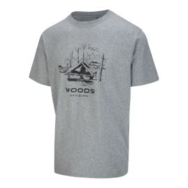 Woods Men's Gibralter T Shirt - Grey