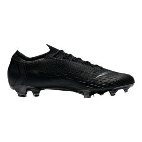 Nike Men s Mercurial Vapor 12 Elite FG Soccer Cleats - Black 7cc4c8c48b