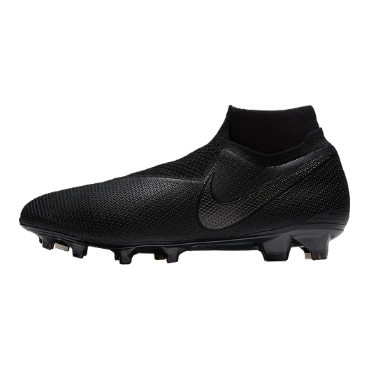 53be58dc3 Nike Men s FTR10 Obra 3 Elite DF FG Soccer Cleats - Black