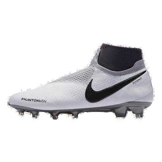 c830916f536f9 Nike Men's Phantom Vision Elite DF FG Soccer Cleats - Platinum ...
