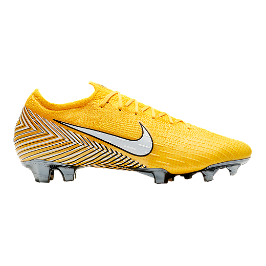 660b25975 Nike Men s Neymar Jr Mercurial Vapor 12 Elite FG Soccer Cleats -  Yellow Black -