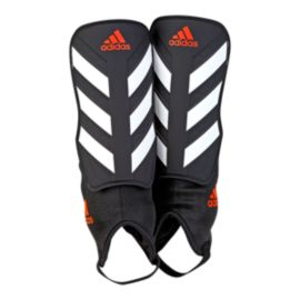 adidas Everclub Shin Guards - Black/White/Solar Red