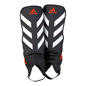 adidas Everclub Shin Guards - Black White Solar Red e4e3ecc9d8