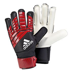 adidas Predator Junior Goalkeeper Gloves - Black Red White 636cea732